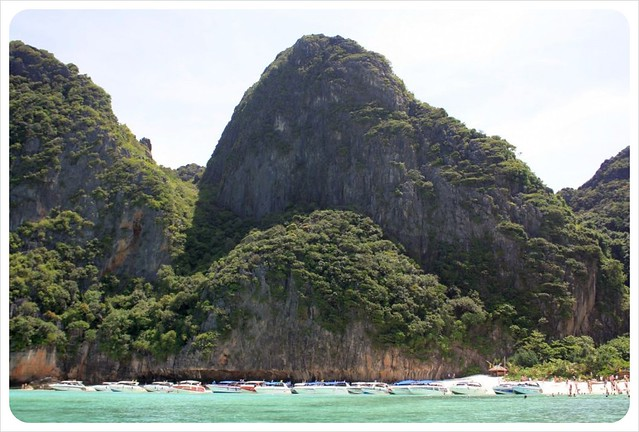 maya bay tourist boats