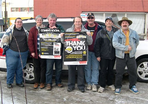 Taxiguy & Molson Coors Feb 2012 Winner A-City Taxi