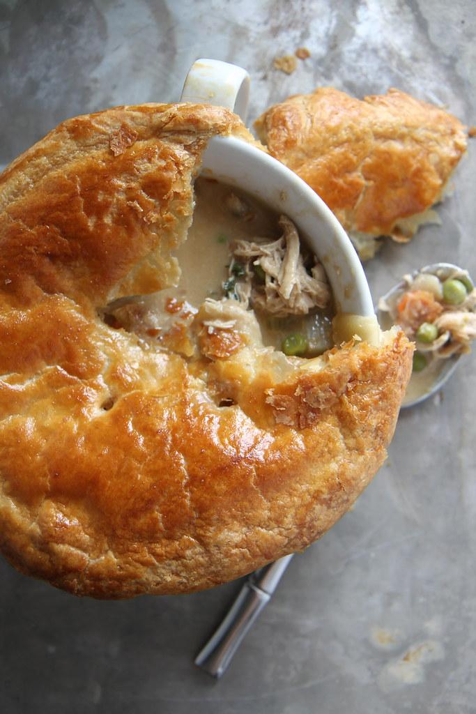 Chicken Guiness Pot Pie