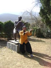 Tue, 15/03/2011 - 07:39 - SHIFU KANISHKA( SHI YAN DU) 34TH GENERATION SHAOLIN WARRIOR FIRST INDIAN TO TRAIN INSIDE SHAOLIN TEMPLE BY GRAND MASTER SHI SUXI, SHI HENGJUN, SHI YANFANG AND SHI YANZI SHIFU KANISHKA TRAINING IN SHAOLIN WUSHU GUAN Shaolin Kung Fu India www.shaolinindia.com