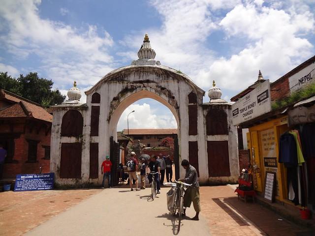 Entrada Bhaktapur, Nepal