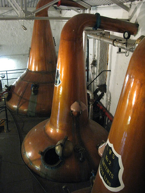 Springbank distillery - triple stills distillation