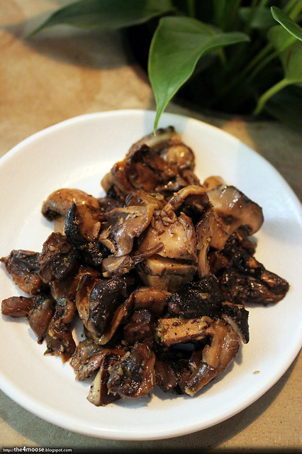 Food for Thought - Garlic Mushrooms