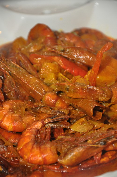 saujana19 curry prawn