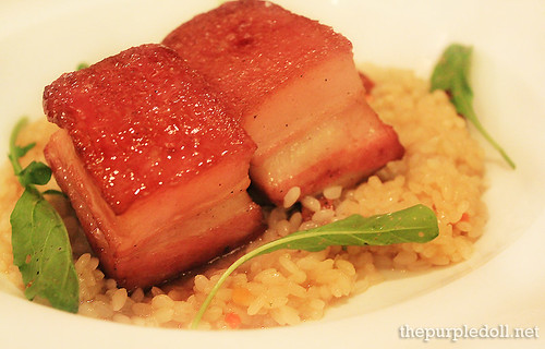 Maple Glazed Pork Belly P540