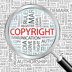 copyright-magnifying