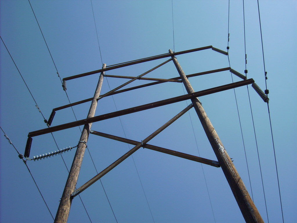 Stacked H Frame Electrical Poles : Astroelectric s most interesting flickr photos picssr