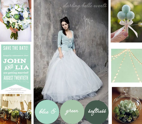 blue green softness board