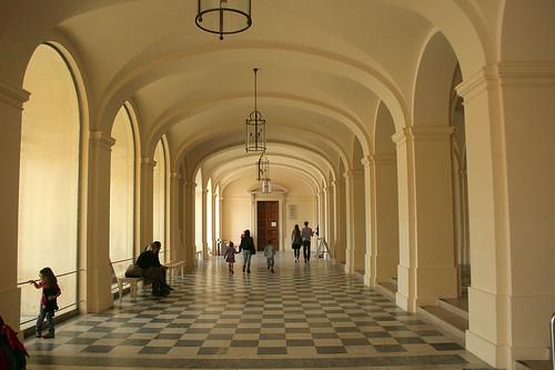 Eingangsbereich - Schloß Herrenchiemsee