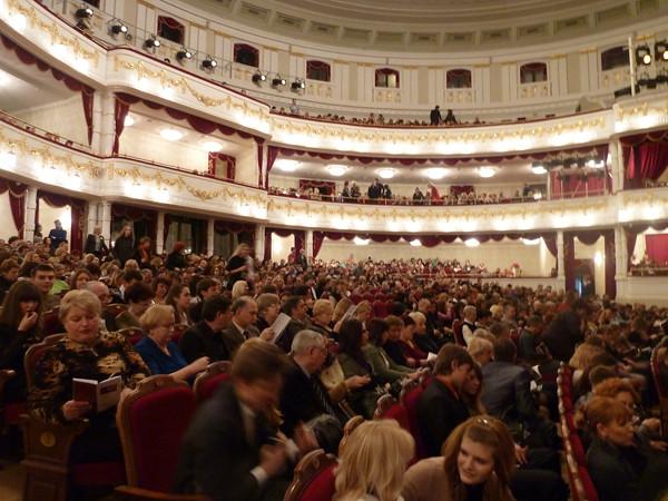 белорусский оперный театр - зрительный зал