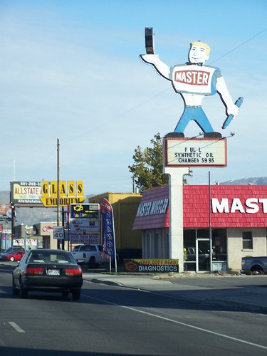 Signage in Salt Lake City (Master Muffler)