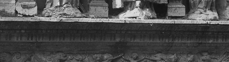 Portada del Convento de San Clemente hacia 1875-80. © Léon et Lévy / Roger-Viollet (detalle)