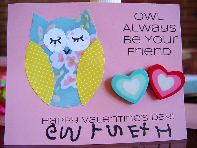 Owl Valentine 2