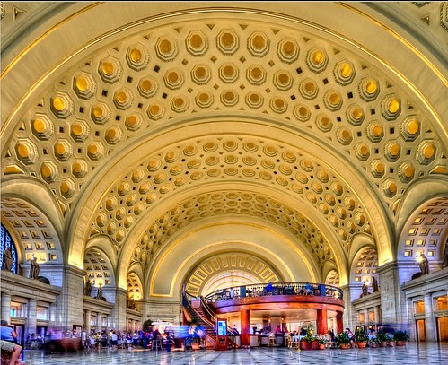 Union Station, Washington, DC (by: Pedro Szekely, creative commons license)