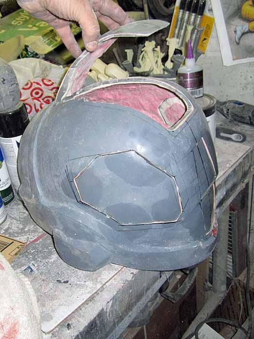 EVA Helmet Visor Cutouts 3