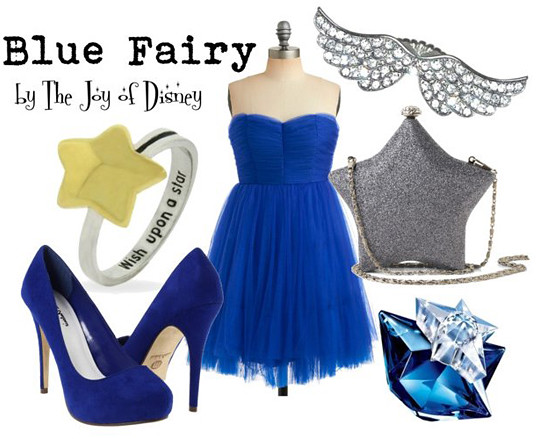 Inspired by: Blue Fairy