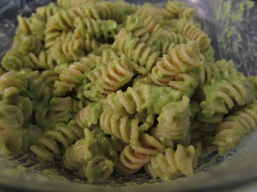 Pasta with Avacado Sauce