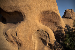 Skull Rock Up Close