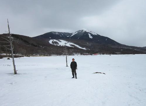 Poran/氷結した女神湖上 2012年2月13日 by Poran111