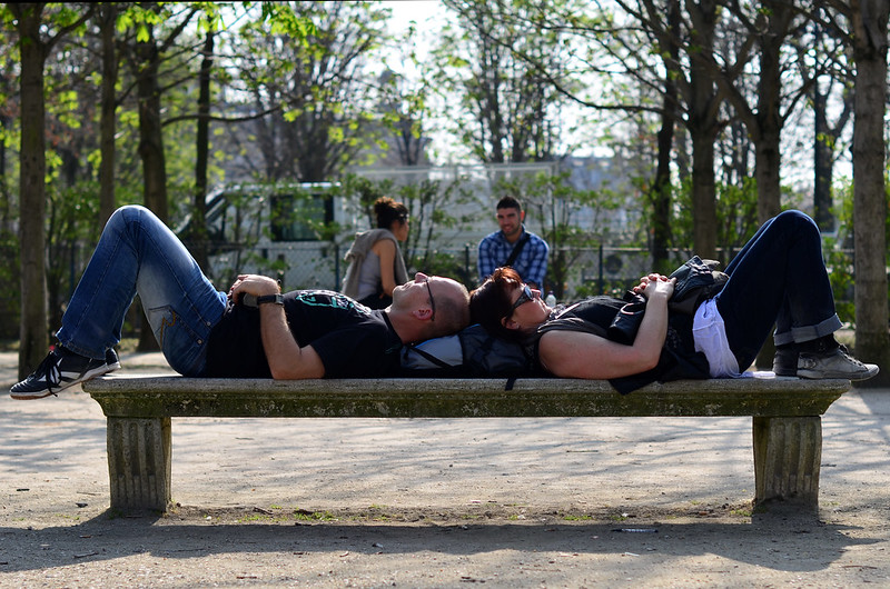Nap on the Bench