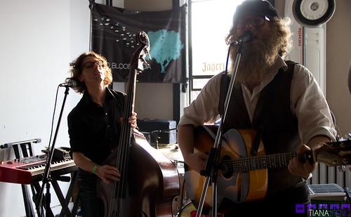Ben Caplan @ Audioblood Party 03/22/2012