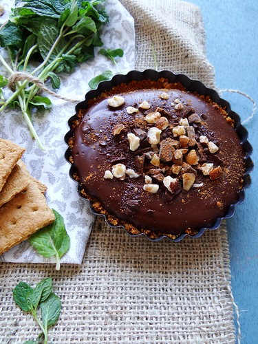 chocolate hazelnut tartletts