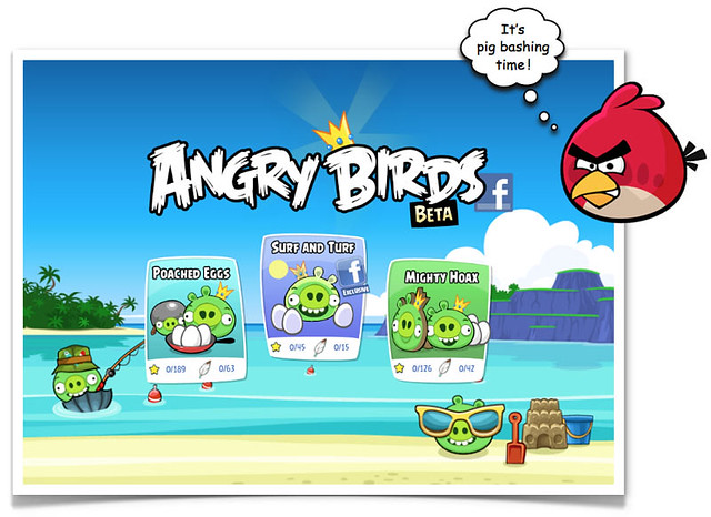 Angry Birds Lands On Facebook