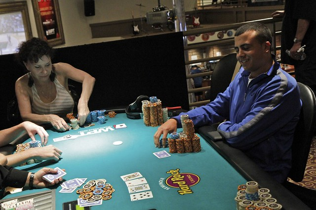 4767 Gigi Gagne Moves All In vs Keith Ferrera