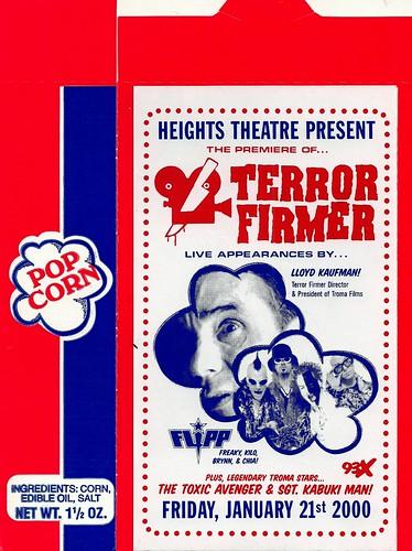 Terror Firmer Popcorn Box