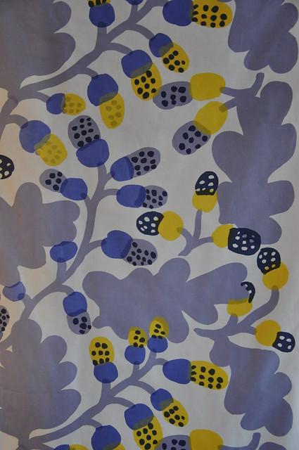 Pähkinäpuu - ekollon Marimekko Katsuji Wakisaka