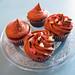 Diferentes decoraciones cupcakes Chocolate