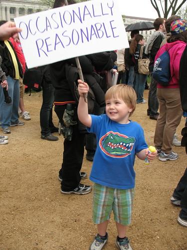 """""""Ocassionally reasonable"""""""