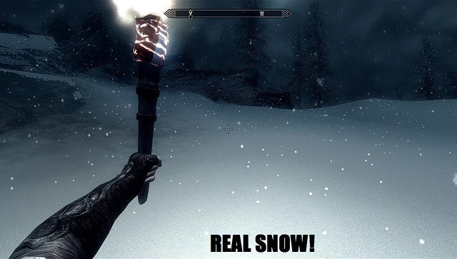 Skyrim Mods Roundup - Real Snow