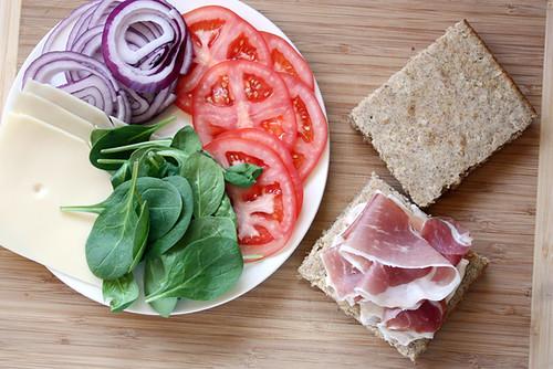 mmm sandwich time.