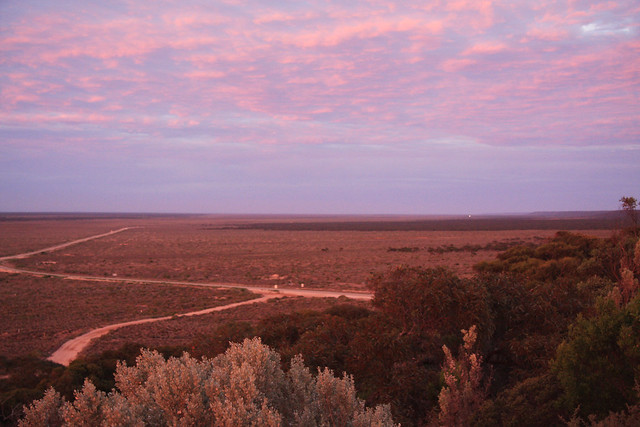 Sunrise at Eucla