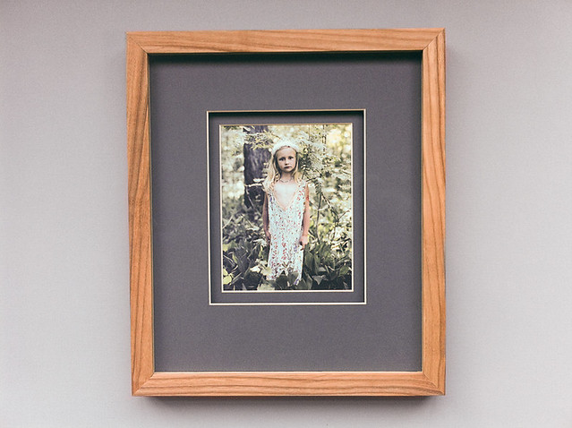 Oiled Ash Tree Frame With Double Paspartu Flickr Photo