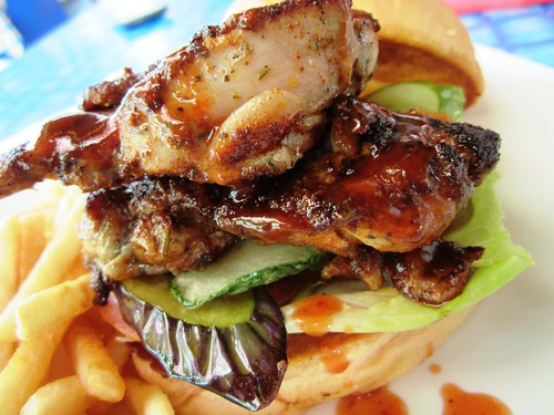 SecretGarden spicy grilled chicken burger 1