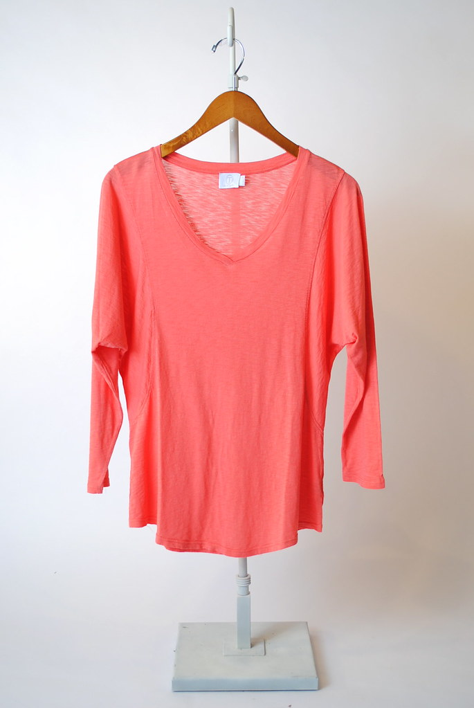 V-Neck Dolman Sleeve Top