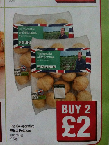 Potatoes from the Co-Op