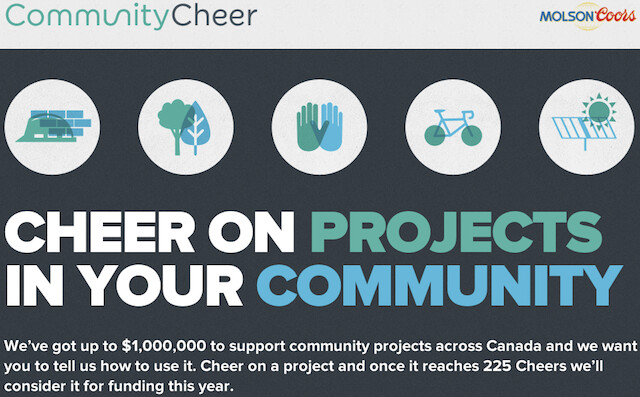 Molson Community Cheer