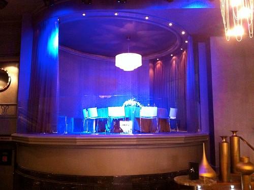 Mesa en el escenario - Ozio Arizona - Bilbao