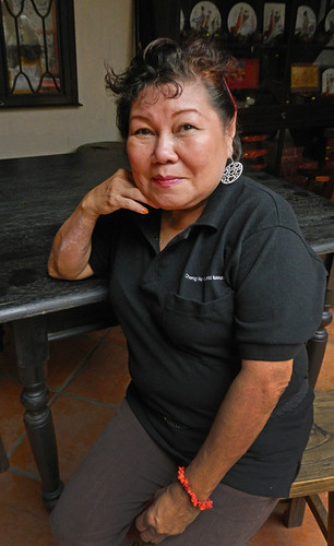 Tina, our tea ceremony hostess