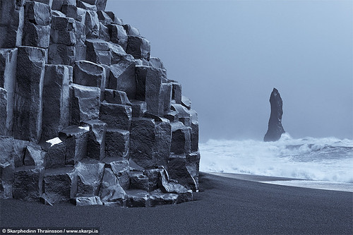 Reynisdrangar / Basaltic columns - South coast Iceland