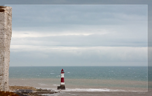 Sky over Beachy Head Lighthouse