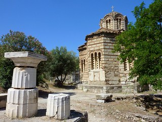 Church of the Holy Apostles (ca. 1000 AD) , Athens, Greece