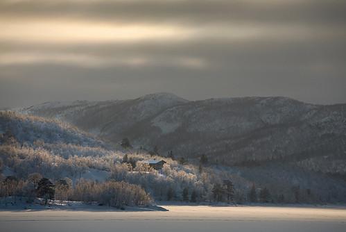 winter light norway