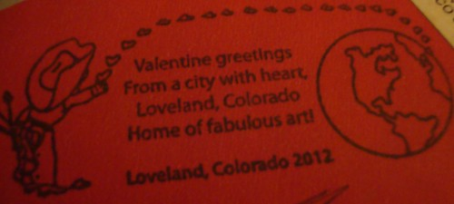 Loveland Stamp 2012
