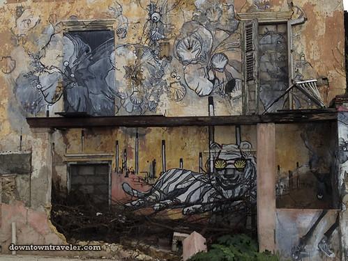 Curacao Caribbean Street Art Shell Oil 03