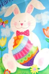 easter bunny, easter, illustration, pink,