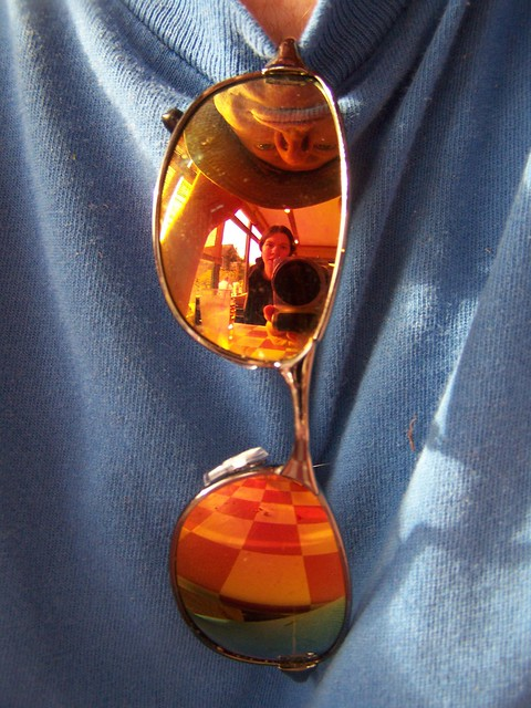 apr 099 Reflection in Lucas' sunglasses